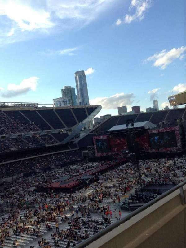 Soldier Field, section: 314, row: 2, seat: 2