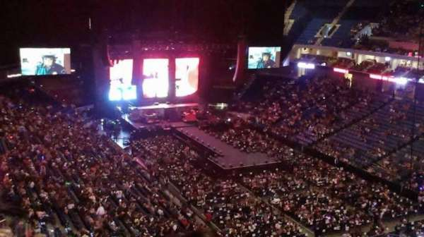 BOK Center, section: 303, row: M, seat: 5