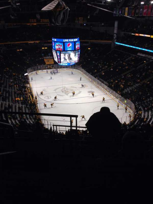 Bridgestone Arena, section: 333, row: N, seat: 21