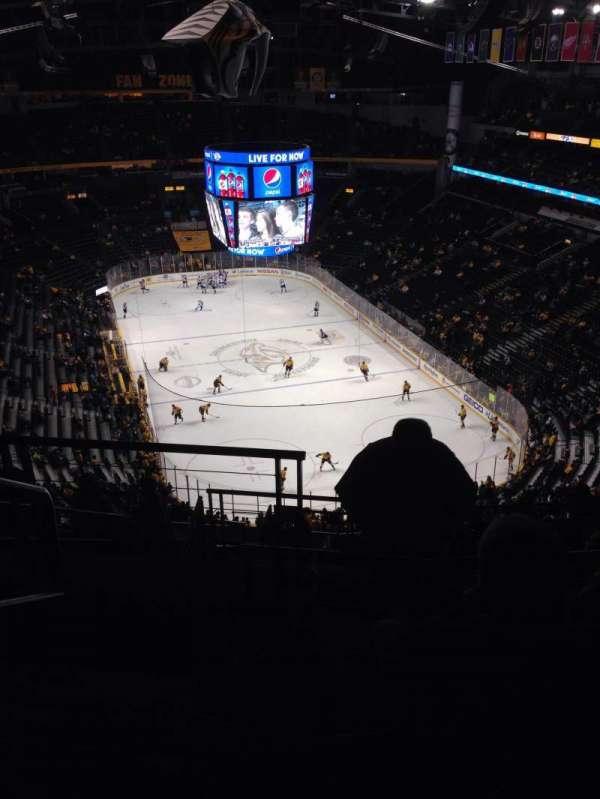Bridgestone Arena, section: 333, row: N, seat: 21
