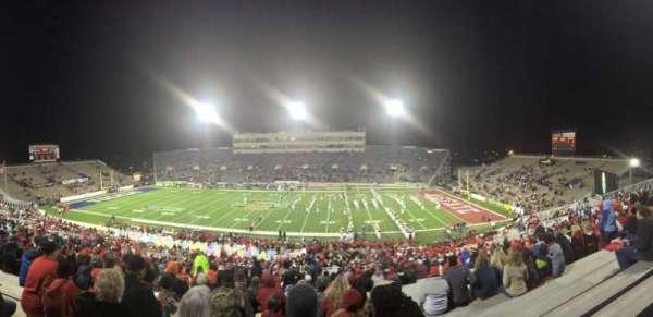 Ladd Peebles Stadium, section: P, row: 57, seat: 30