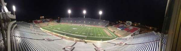 Ladd Peebles Stadium, section: Press Box