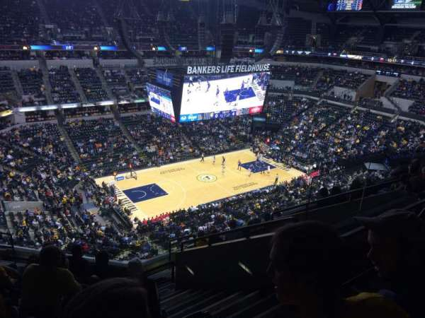 Bankers Life Fieldhouse, section: 211, row: 9, seat: 6