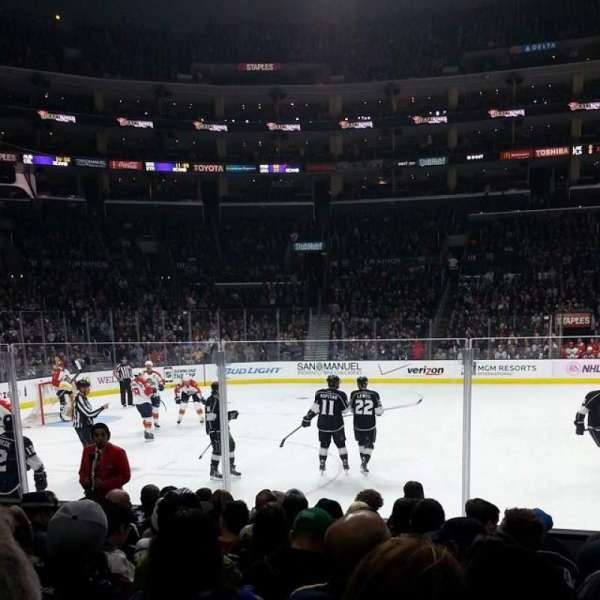 Staples Center, section: 112, row: 9, seat: 15