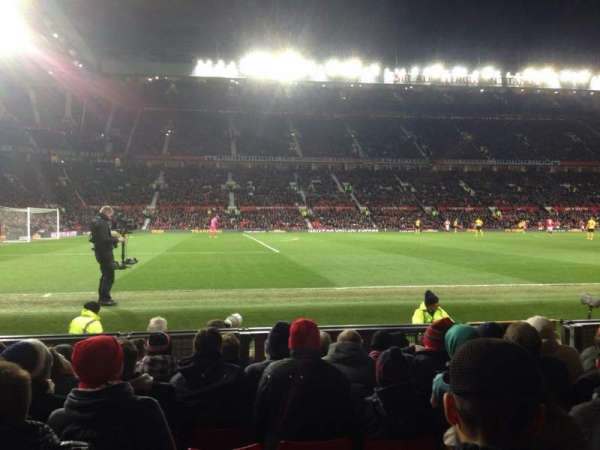 Old Trafford, section: STH122, row: JJ, seat: 212