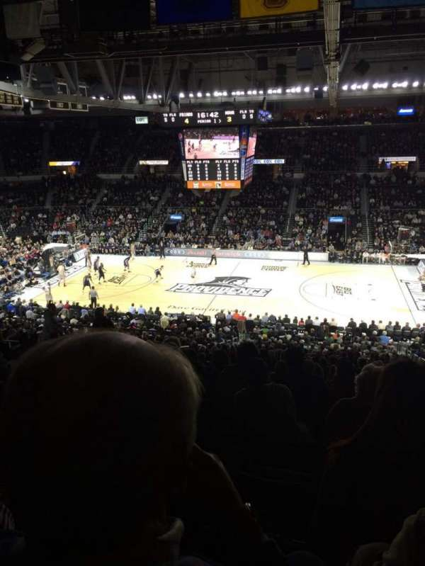 Dunkin' Donuts Center, section: 210, row: N, seat: 8