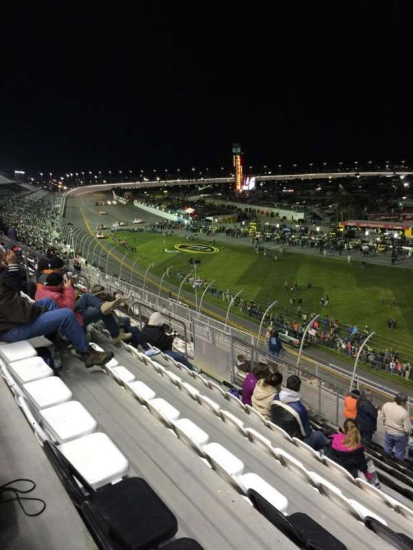 Daytona International Speedway, section: N, row: 36, seat: 8