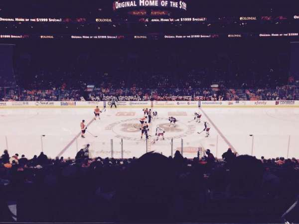 Wells Fargo Center, section: SB13, row: 1, seat: 9