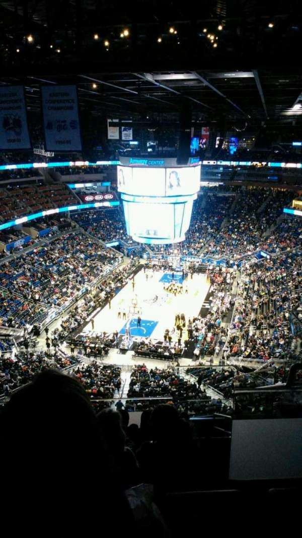 Amway Center, section: 216, row: 11, seat: 1