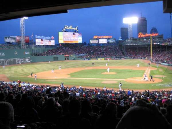 Fenway Park, section: Grandstand 24, row: 11, seat: 3