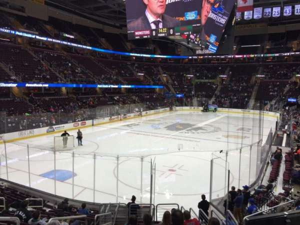 Quicken Loans Arena, section: 120, row: 14, seat: 3