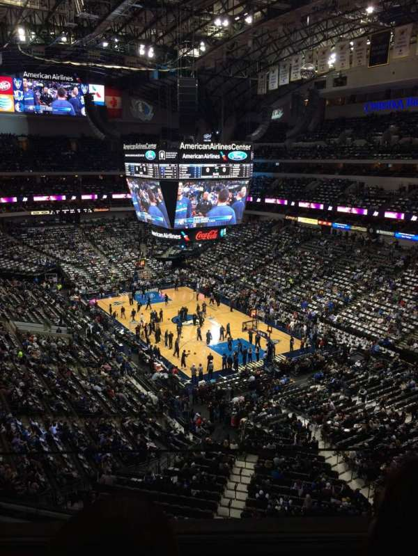 American Airlines Center, section: 321, row: A, seat: 9