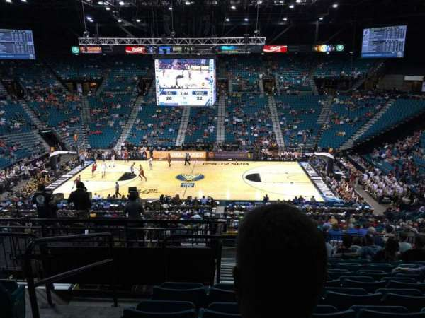 MGM Grand Garden Arena, section: 214, row: F, seat: 16
