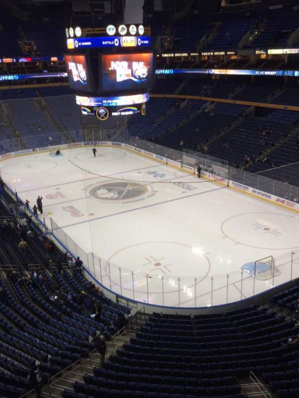 KeyBank Center, section: 301, row: 1, seat: 15