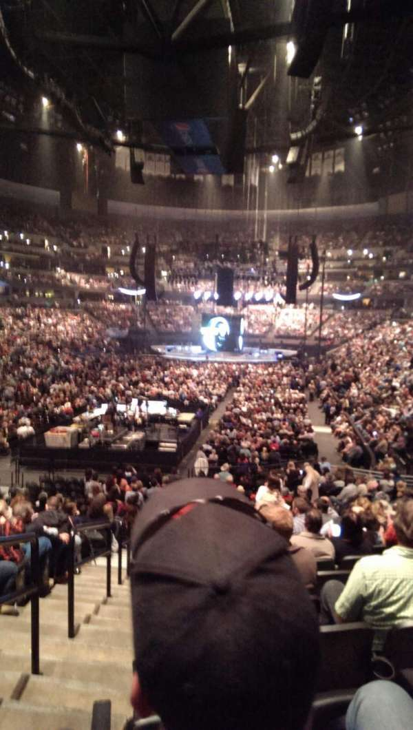 Pepsi Center, section: 110, row: 20, seat: 16