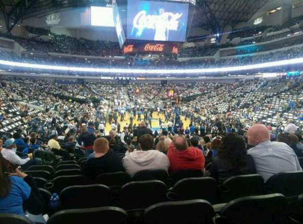 American Airlines Center, section: 113, row: p, seat: 16