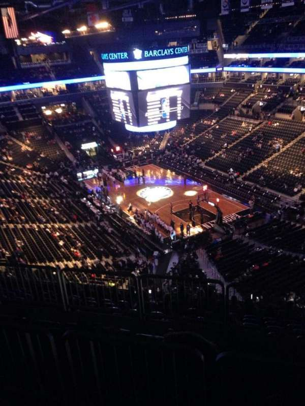 Barclays Center, section: 203, row: 10, seat: 17