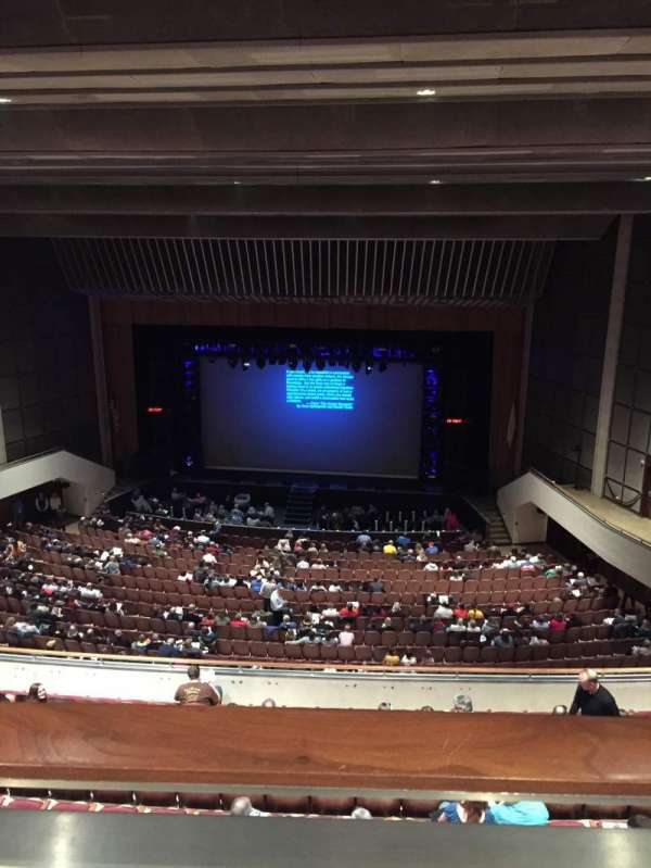 Miller Auditorium, section: Balcony, row: 10, seat: 31