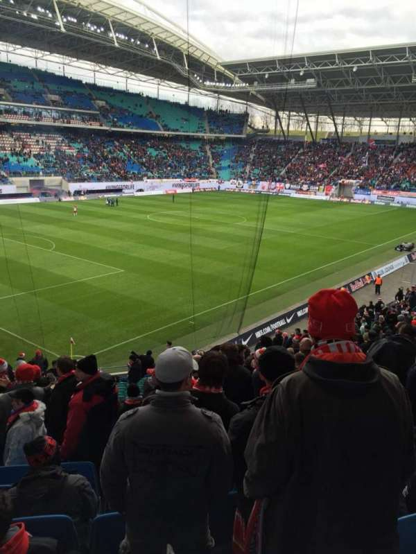 Red Bull Arena Leipzig Section Gaste Home Of Rb Leipzig