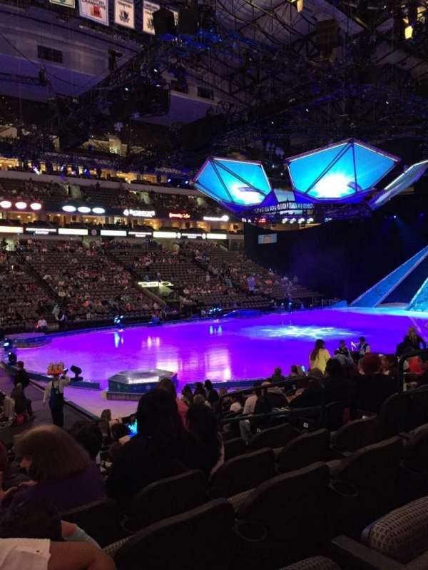 American Airlines Center, section: 109, row: N, seat: 7
