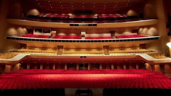 Dorothy chandler pavilion, section: T, row: 20, seat: 22
