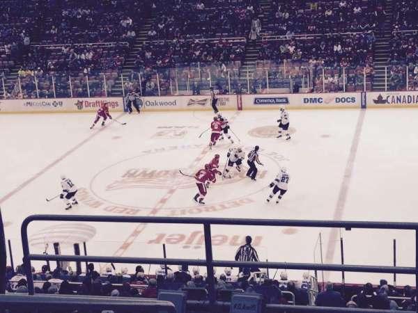 Joe Louis Arena, section: 220, row: 6, seat: 11