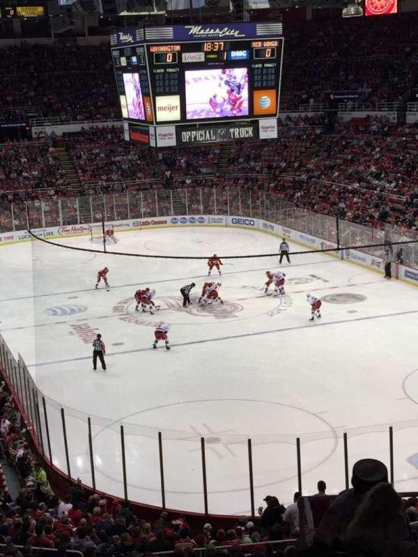 Joe Louis Arena, section: 216B, row: 10, seat: 15
