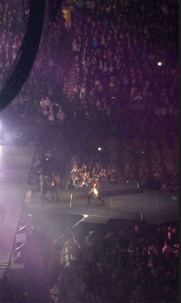 Madison Square Garden, section: 223, row: 11