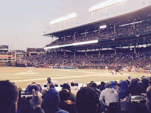 Wrigley Field, section: 12, row: 13, seat: 15