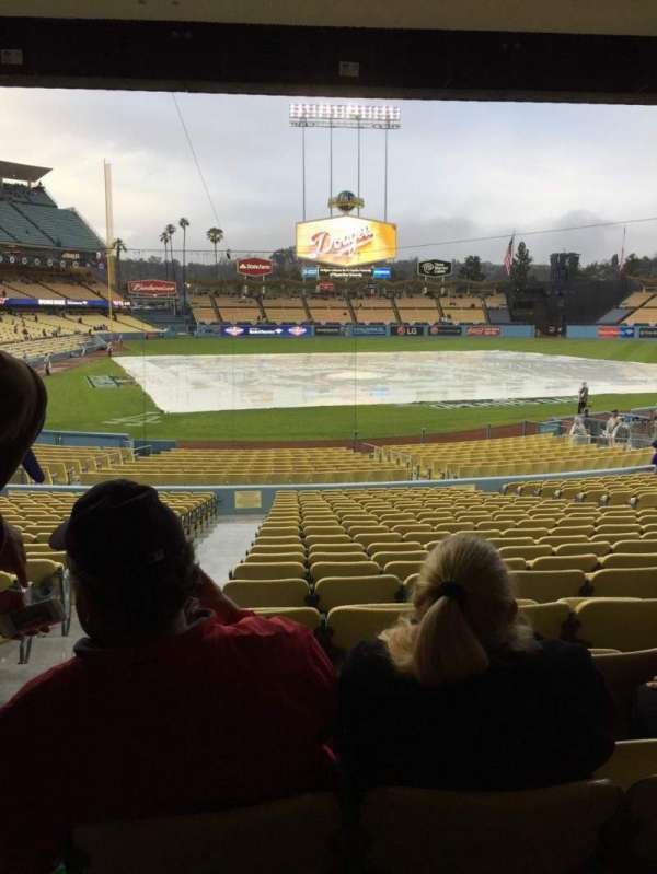 Dodger Stadium, section: 8FD, row: W, seat: 1