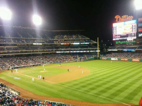 Citizens Bank Park, section: 209, row: 3, seat: 13