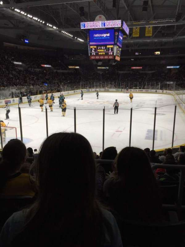 Dunkin' Donuts Center, section: 114, row: C, seat: 2