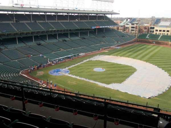 Wrigley Field, section: 426R, row: 4, seat: 11