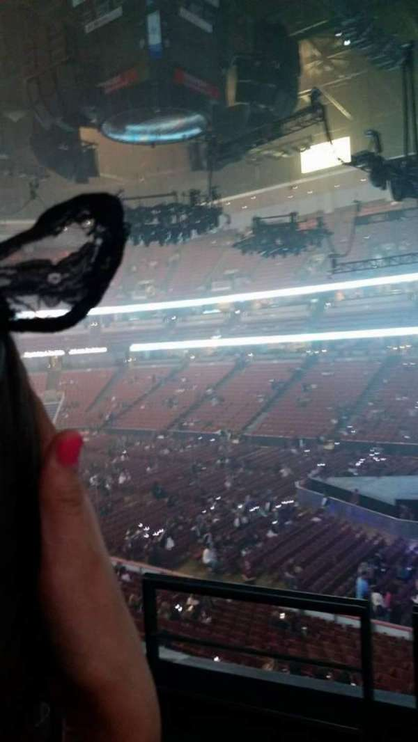 Honda Center, section: 318, row: 2, seat: 2