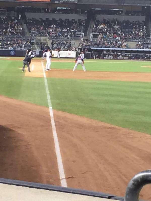 Yankee Stadium, section: 107, row: 12, seat: 11
