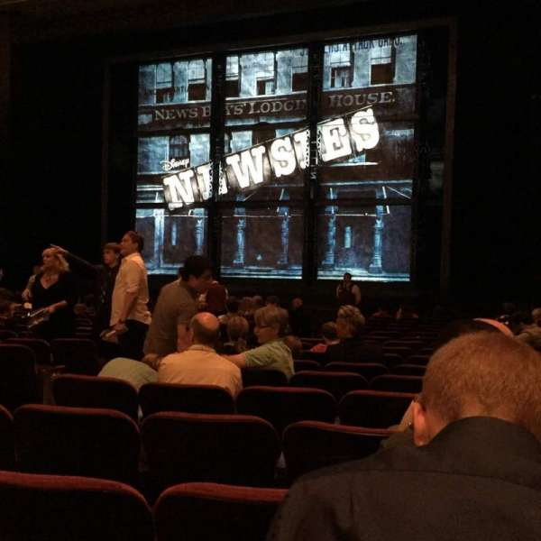 Hollywood Pantages Theatre, section: Orchestra RC, row: R, seat: 205