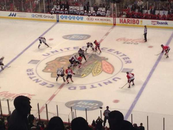 United Center, section: 316, row: 9, seat: 5