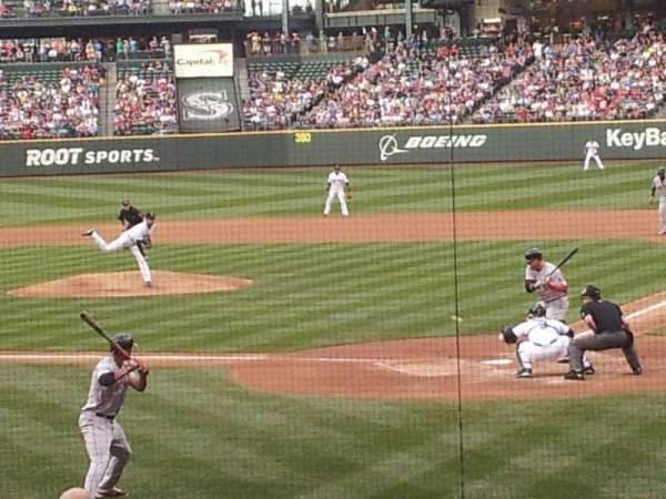 T-Mobile Park, section: 132, row: 25, seat: 6