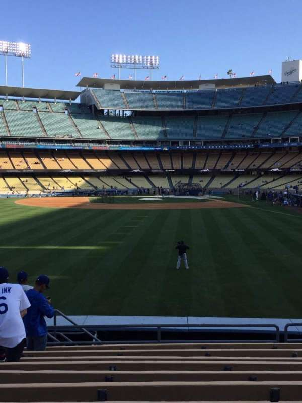 Dodger Stadium, section: 303PL, row: L, seat: 14