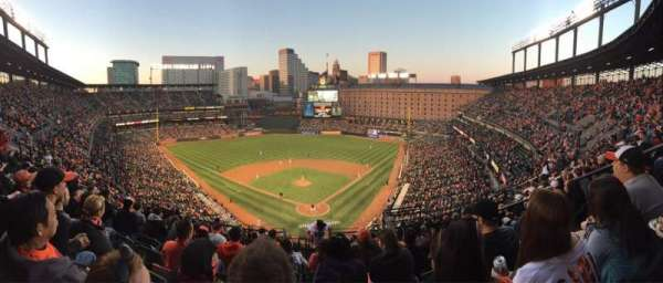 Oriole Park at Camden Yards, section: 340, row: 15, seat: 8