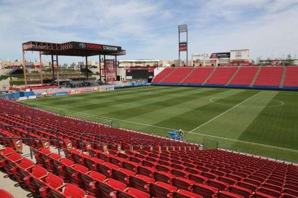 Toyota Stadium, section: 108, row: 20, seat: 10