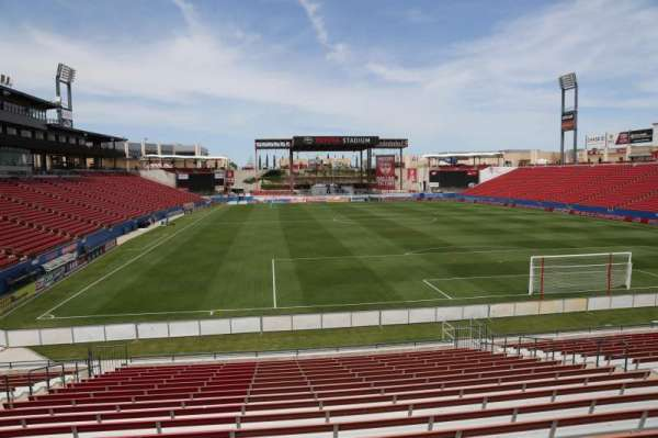Toyota Stadium, section: 115, row: 20, seat: 10