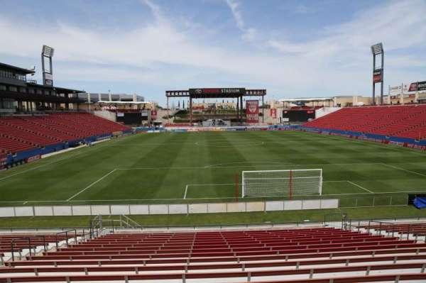 Toyota Stadium, section: 116, row: 20, seat: 10
