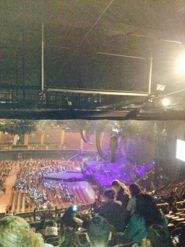 The Forum, section: 210, row: 21, seat: 3