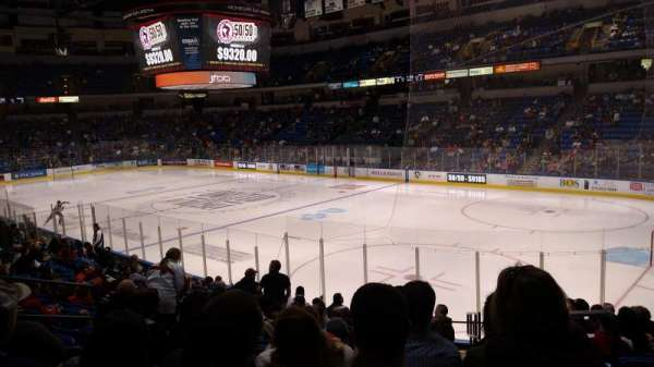 Mohegan Sun Arena at Casey Plaza, section: 102, row: Q, seat: 2