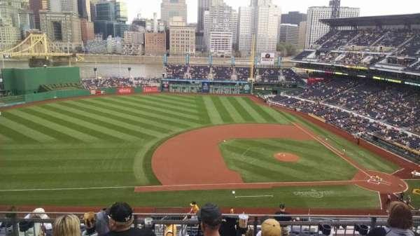 PNC Park, section: 323, row: h, seat: 20