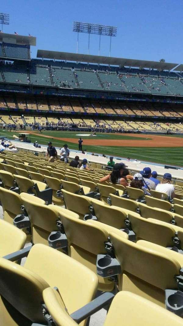 Dodger Stadium, section: 42FD, row: p, seat: 6
