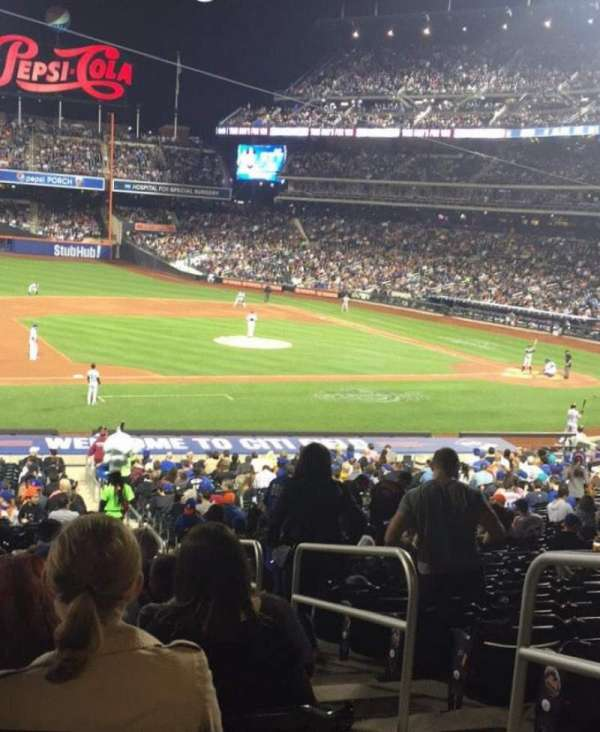 Citi Field, section: 123, row: 31, seat: 2