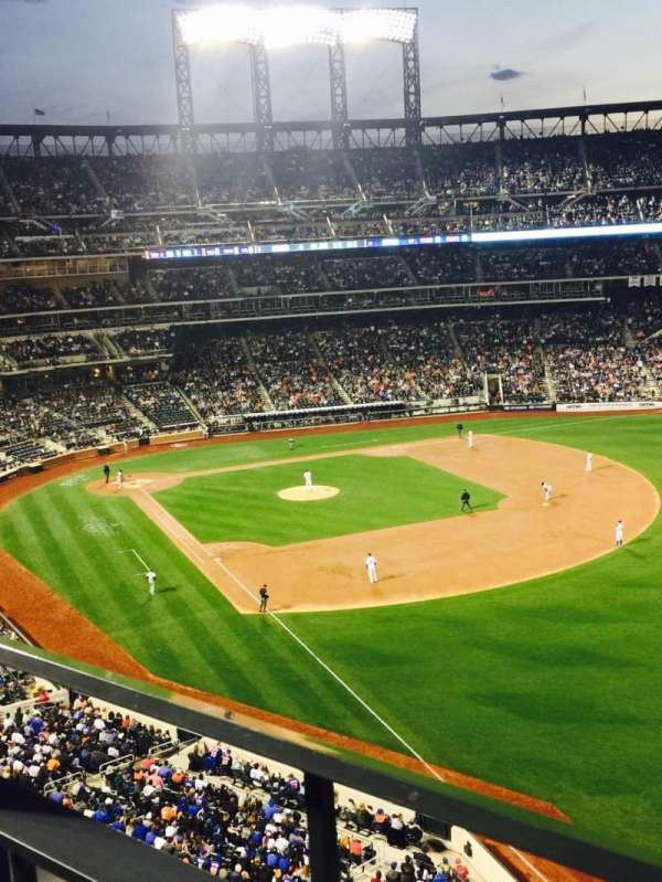 Citi Field, section: 401, row: 1, seat: 7