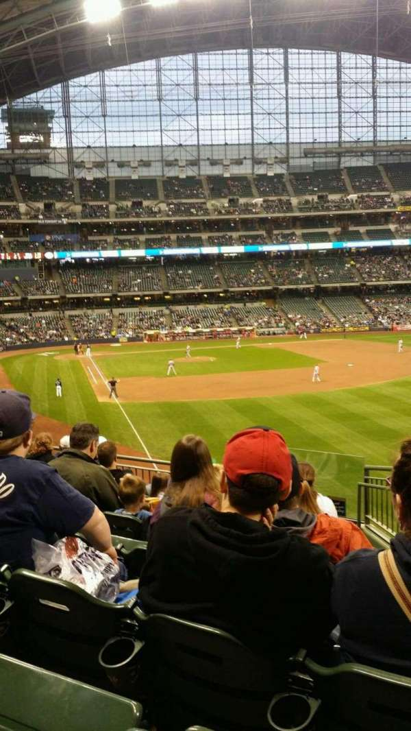 Miller Park, section: 206, row: 8, seat: 20